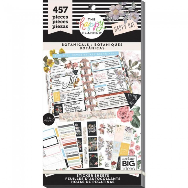 Libro de pegatinas Value Pack Create 365 Vintage Botanical