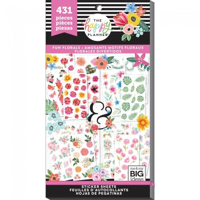 Libro de pegatinas Value Pack Create 365 Romantic Florals