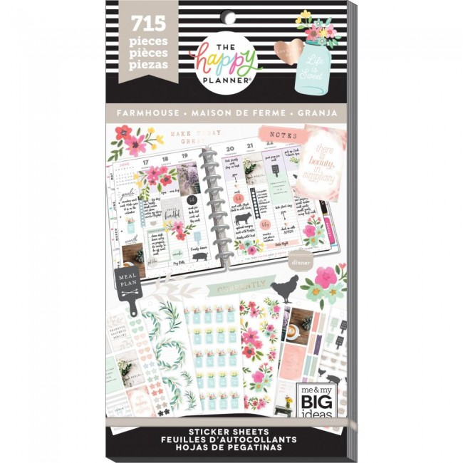 Libro de pegatinas Value Pack Create 365 Farmhouse