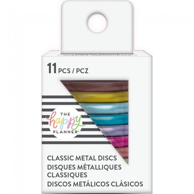 Anillas Create 365 Medianas Metal Rainbow