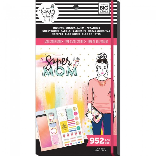 Librillo de Accesorios Create 365 Super Mom