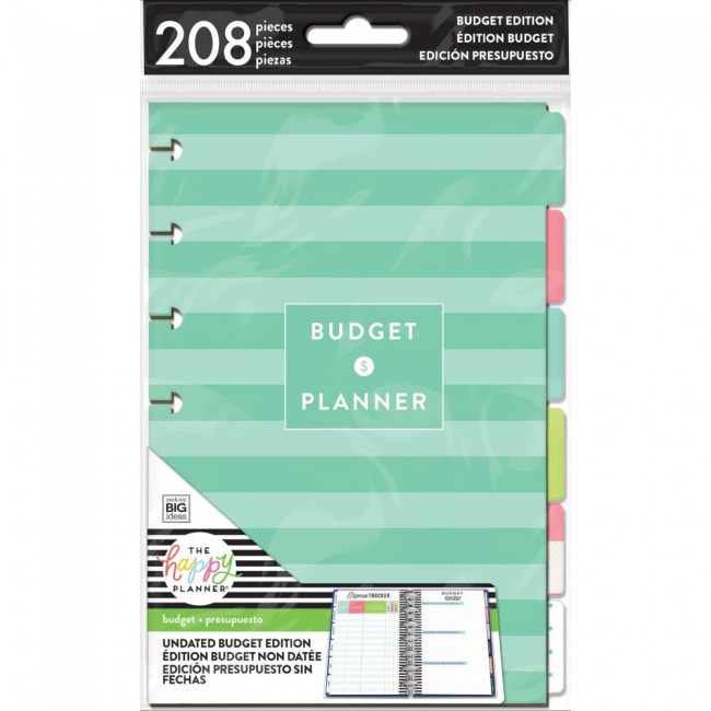 Inserto para Happy Planner Mini Create 365 Budget