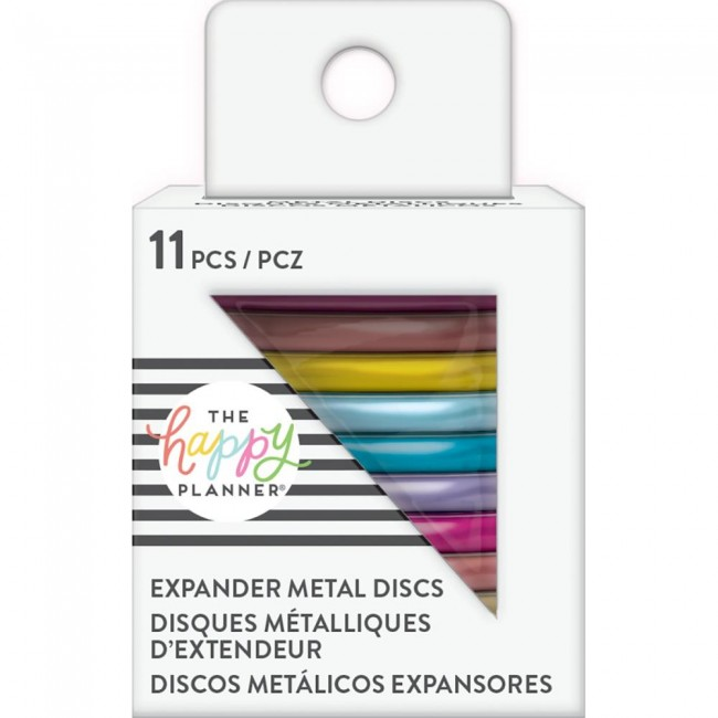Anillas Create 365 Grandes Metal Rainbow