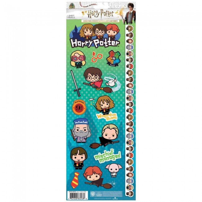 Pegatinas Harry Potter Chibi Characters