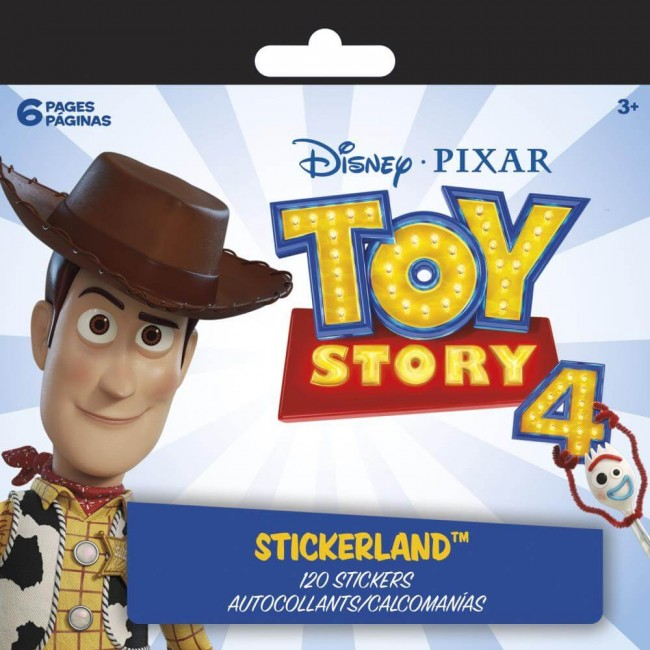 Pegatinas Mini Stickerland Toy Story 4