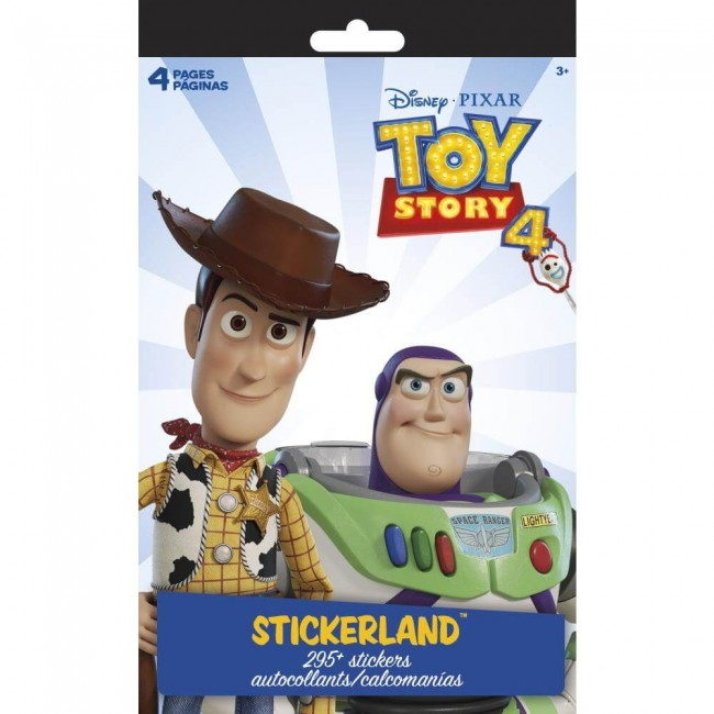 Pegatinas Stickerland Toy Story 4
