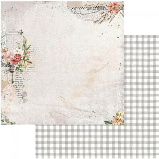 Papel Estampado Doble Cara 12x12 Ethereal View From Above