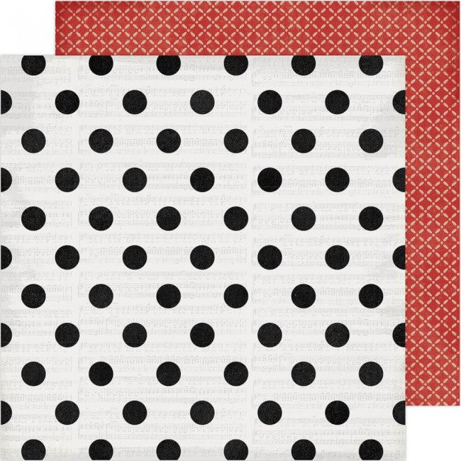 Papel Estampado Doble Cara 12x12 Winter Wonderland Christmas Cheer