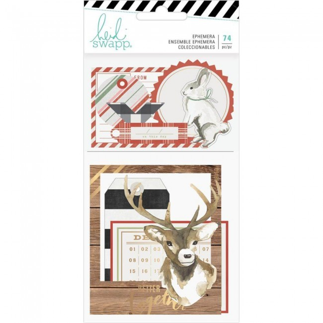 Die Cuts Winter Wonderland Ephemera