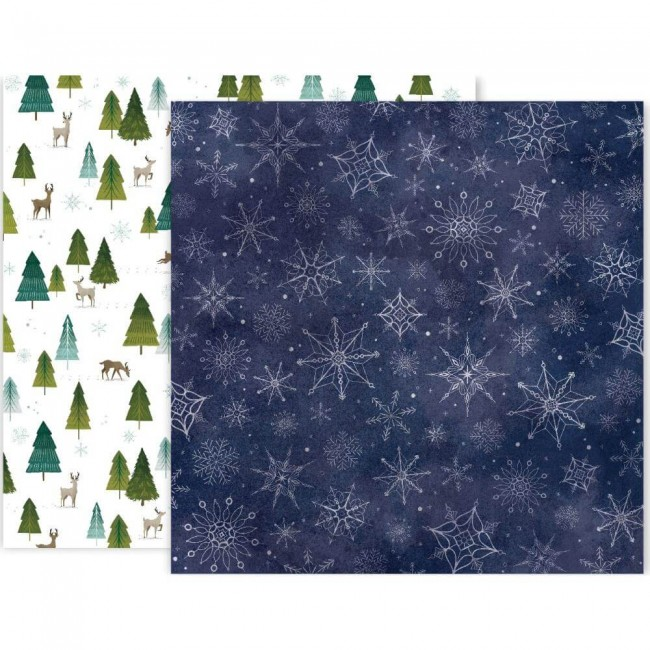 Papel Estampado Doble Cara 12x12 Together For Christmas #2