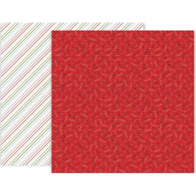 Papel Estampado Doble Cara 12x12 Together For Christmas #6