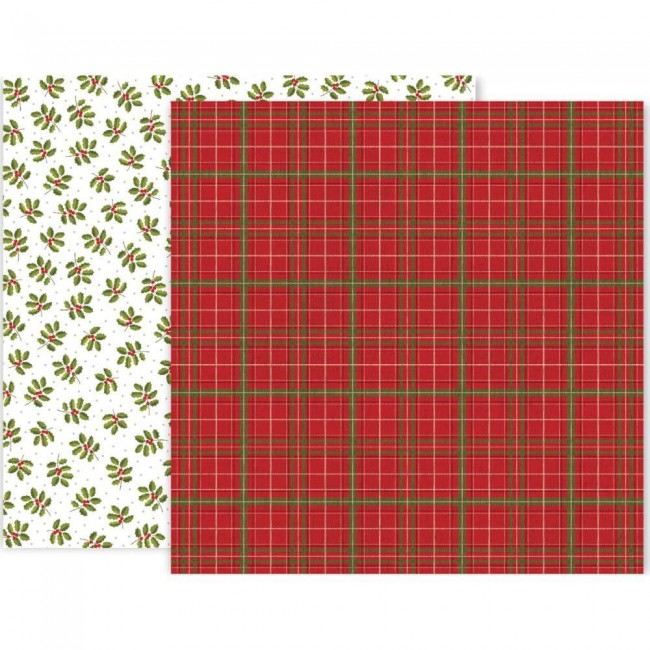 Papel Estampado Doble Cara 12x12 Together For Christmas #10