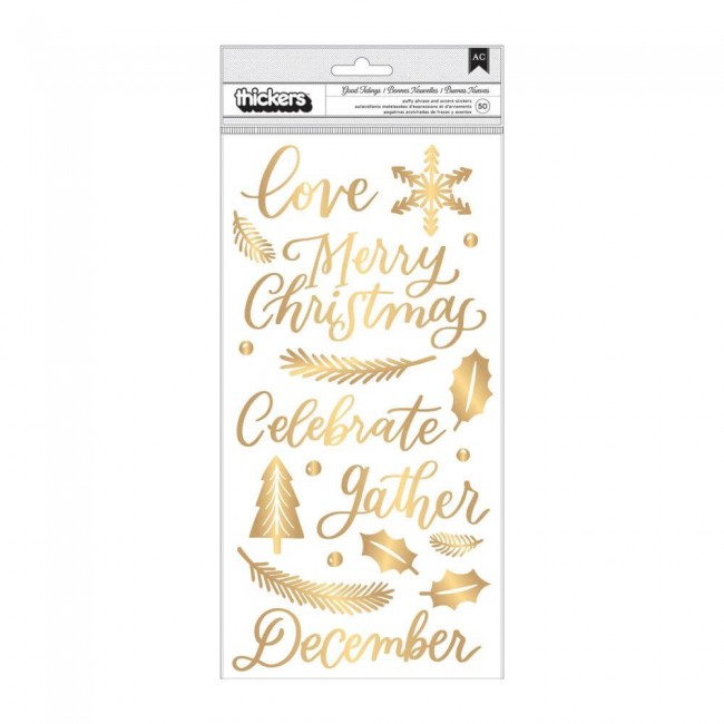 Thickers Together For Christmas Good Tidings Phrase & Icons