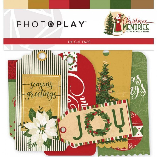 Die Cuts Christmas Memories Tags