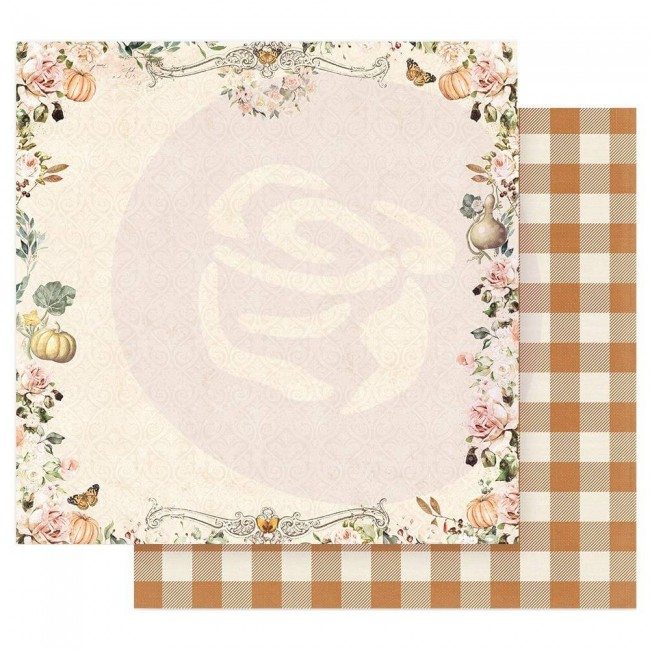 Papel Estampado Doble Cara 12x12 Autumn Sunset Beautiful Sunset