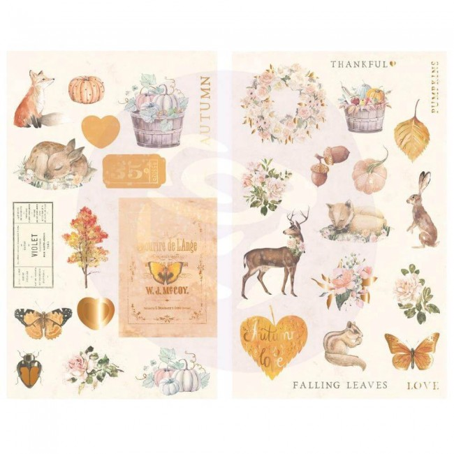 Chipboard Autumn Sunset Icons