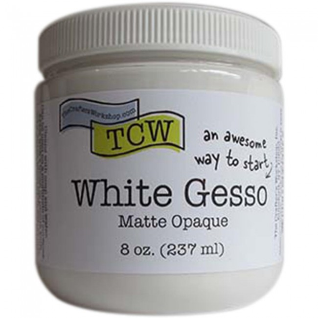Gesso White 237 ml