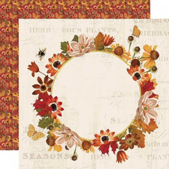 Papel Estampado Doble Cara 12x12 Autumn Splendor Splendor
