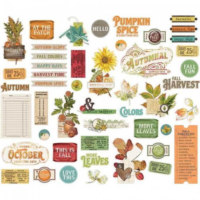 Die Cuts Autumn Splendor Bits & Pieces