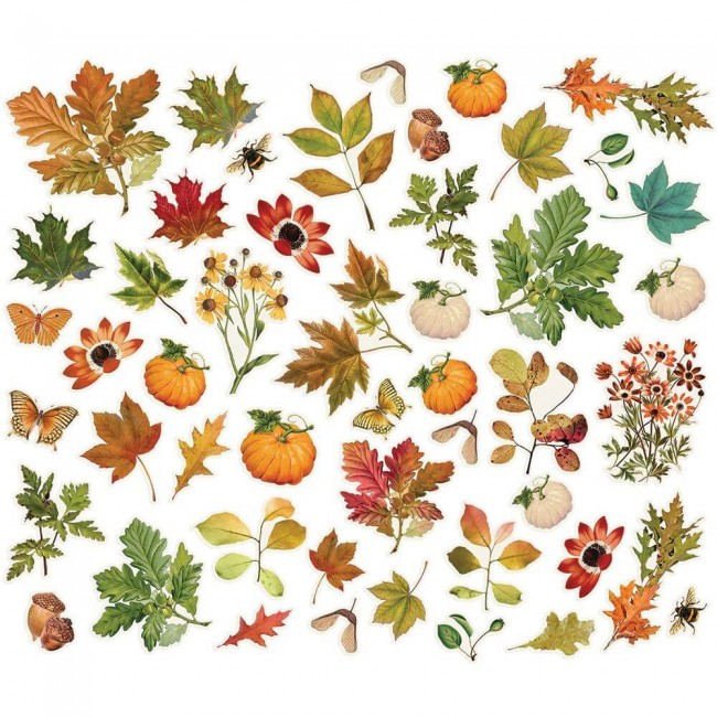 Die Cuts Autumn Splendor Bits & Pieces Foliage