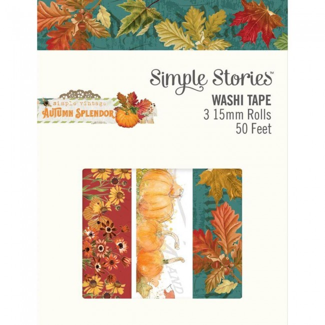 Set de Washi Tape Autumn Splendor
