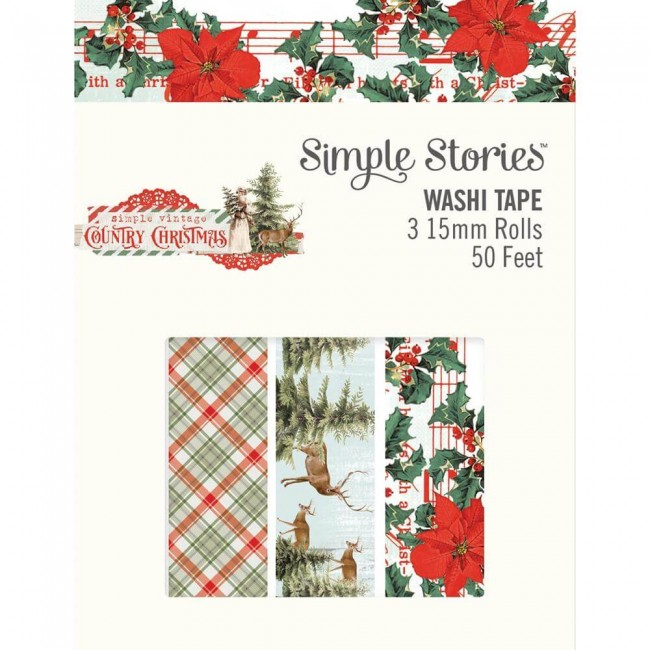 Set de Washi Tape Country Christmas