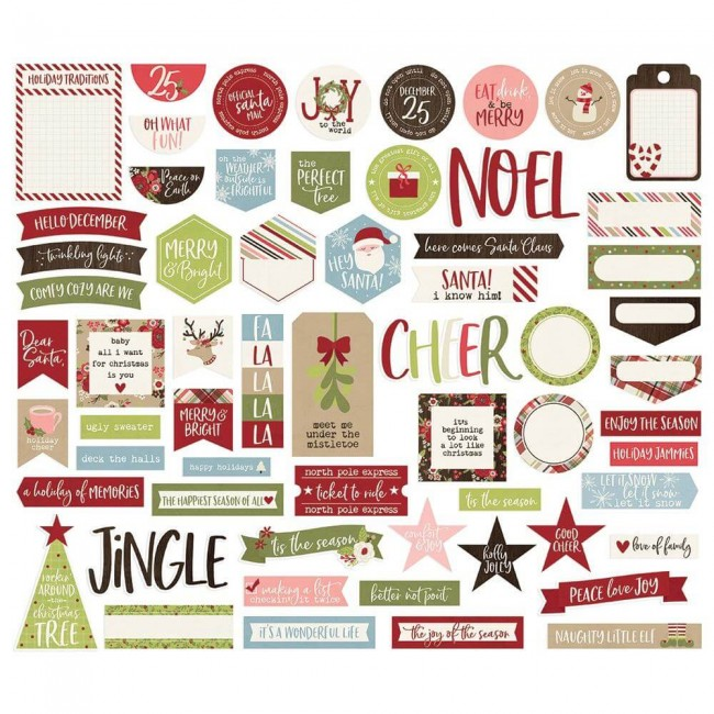 Die Cuts Holly Jolly Bits & Pieces Journal