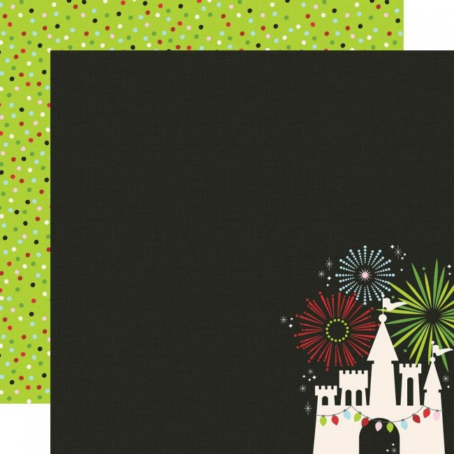 Papel Estampado Doble Cara 12x12 Say Cheese Christmas Magical Holiday