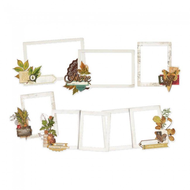 Die Cuts Autumn Splendor Layered Frames