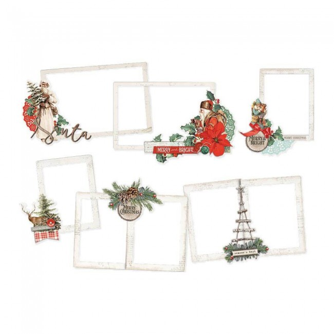 Die Cuts Country Christmas Layered Frames