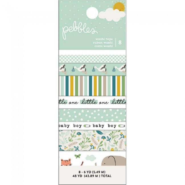 Set de Washi Tape Peek A Boo You Boy