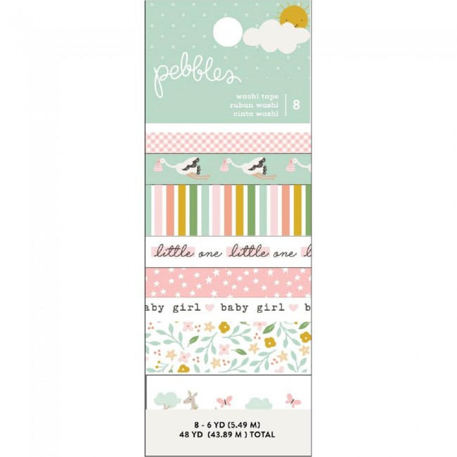 Set de Washi Tape Peek A Boo You Girl