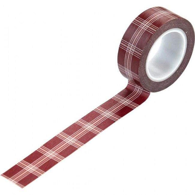 Washi Tape A Cozy Christmas Holiday Plaid