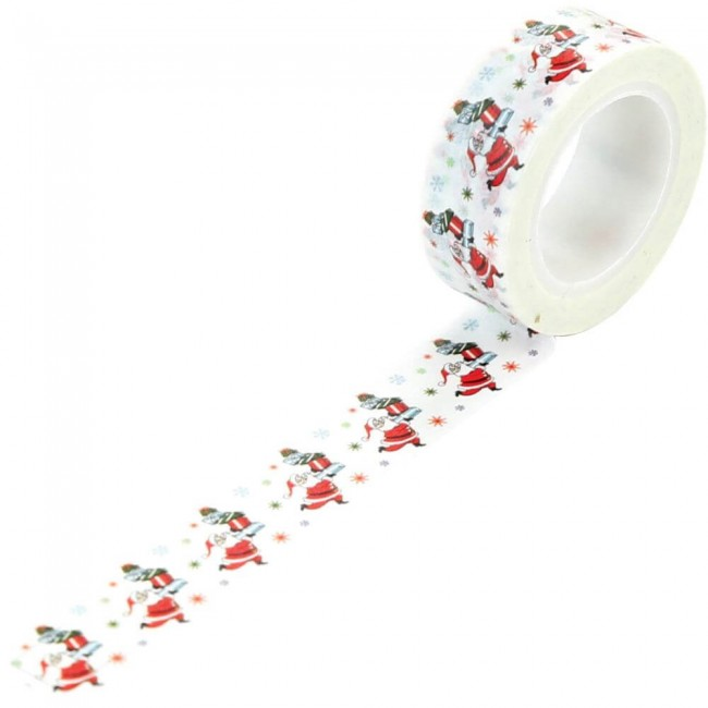 Washi Tape Merry Christmas Delivering Gifts