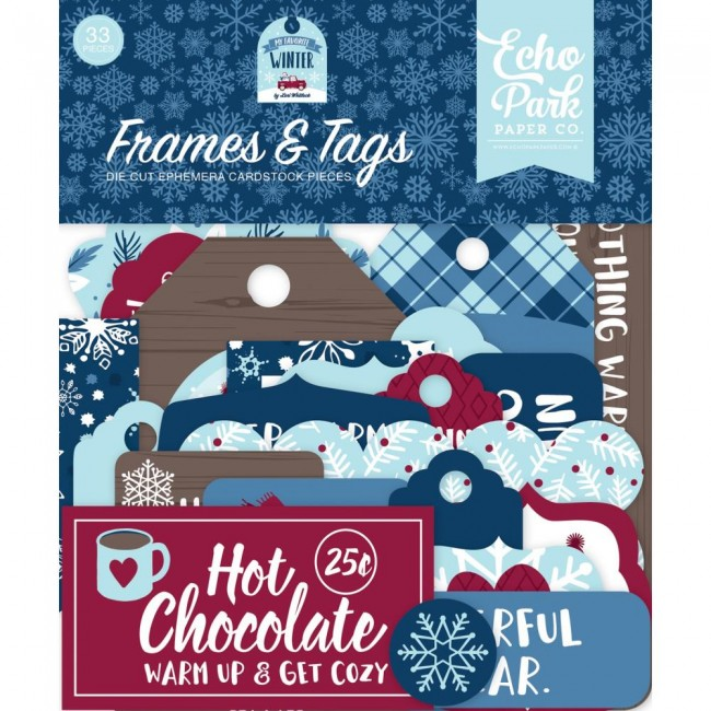 Die Cuts My Favorite Winter Frames & Tags