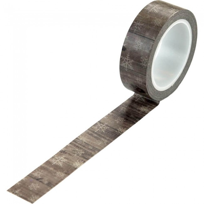 Washi Tape Warm & Cozy Winter Woodgrain