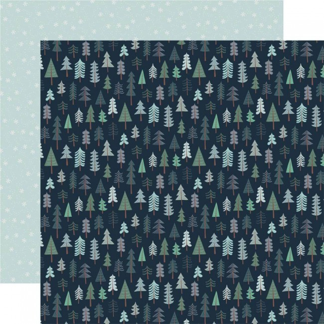 Papel Estampado Doble Cara 12x12 Snow Much Fun Wonderland