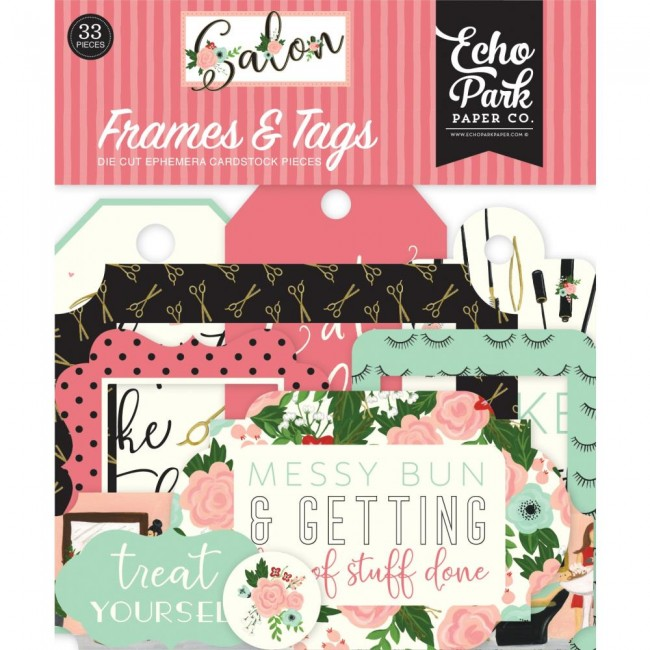 Die Cuts Salon Frames & Tags