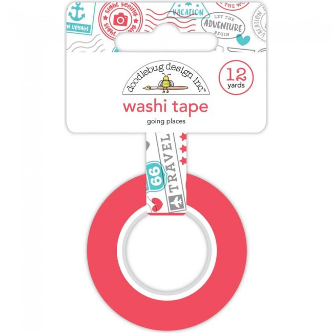 Washi Tape I Heart Travel Going Places