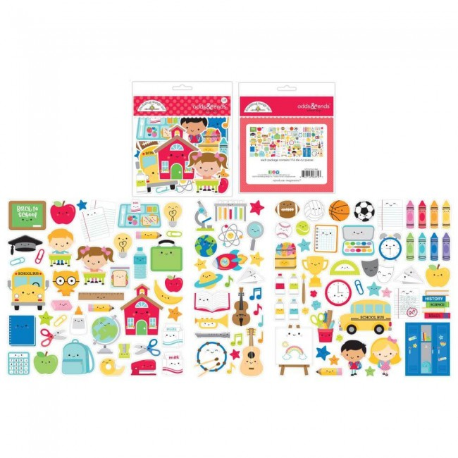 Die Cuts School Days Odds & Ends
