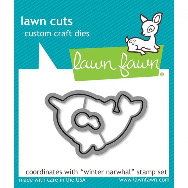 Troquel Lawn Cuts Winter Narwhal