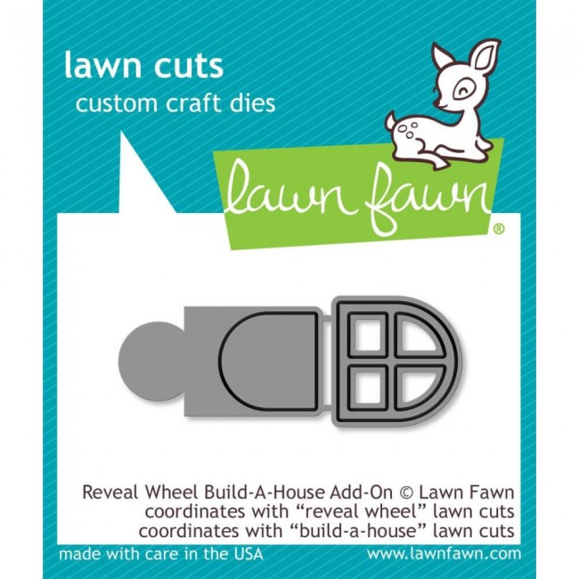 Troquel Lawn Cuts Reveal Wheel Build-A-House Add-On