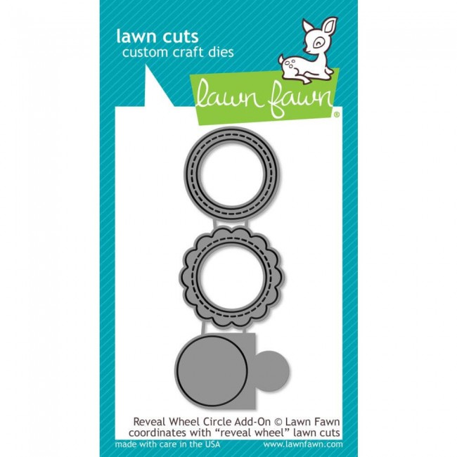 Troquel Lawn Cuts Reveal Wheel Circle Add-On