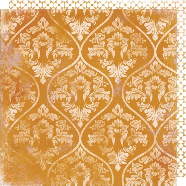Papel Estampado Doble Cara 12x12 Honey & Spice Marmalade