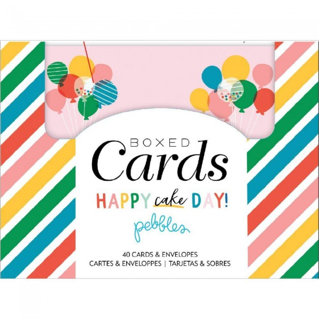 Tarjetas y sobres Happy Cake Day