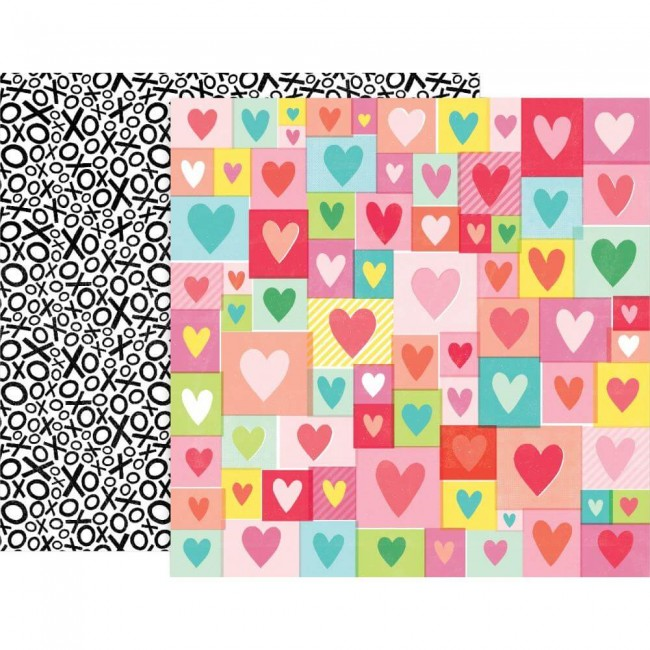 Papel Estampado Doble Cara 12x12 Lucky Us #4