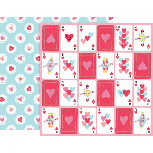 Papel Estampado Doble Cara 12x12 Lucky Us #9