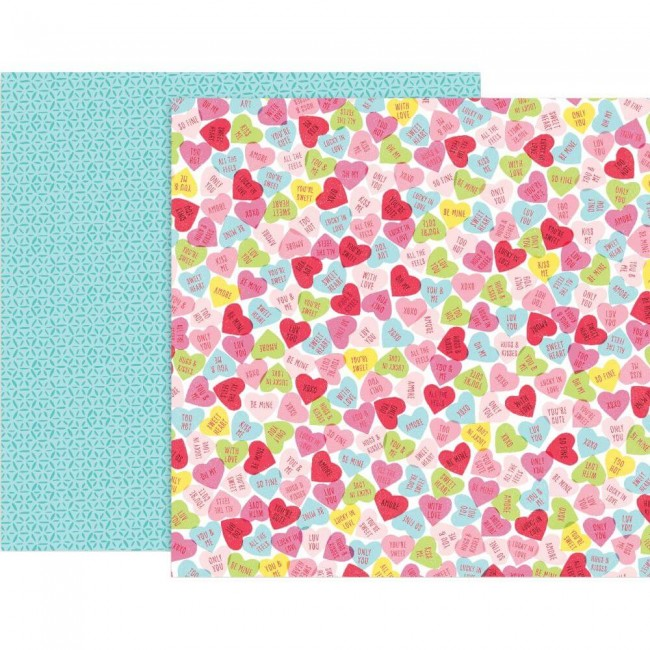 Papel Estampado Doble Cara 12x12 Lucky Us #12