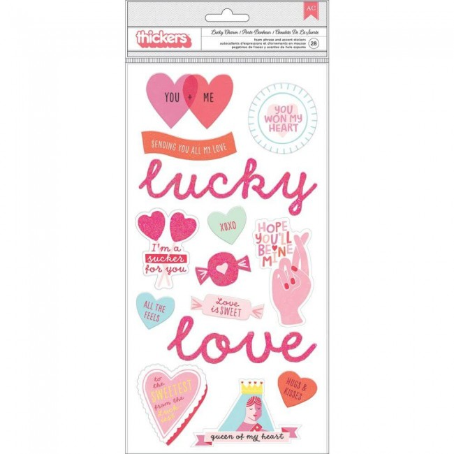 Thickers Lucky Us Lucky Charm Phrase & Icons