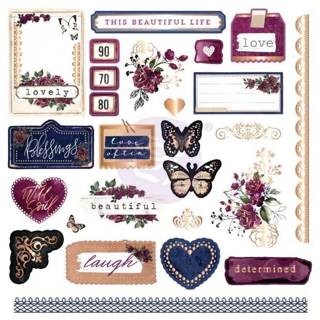 Die Cuts Darcelle